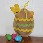 How-To-Make-A-Burlap-Egg-Craft 150
