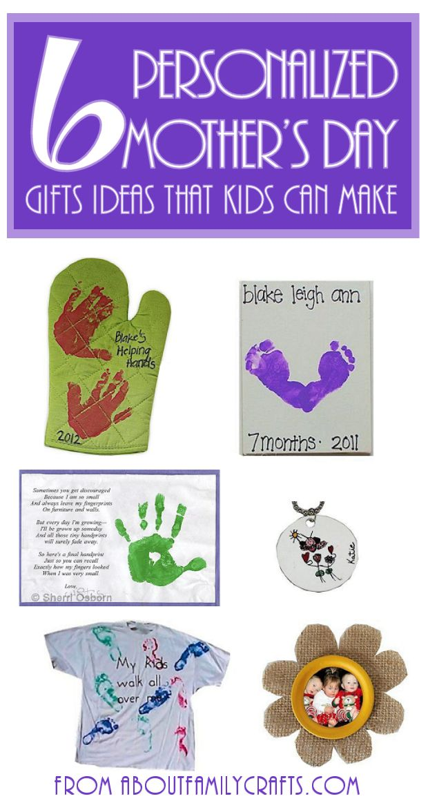 how to make mothers day presents crafts