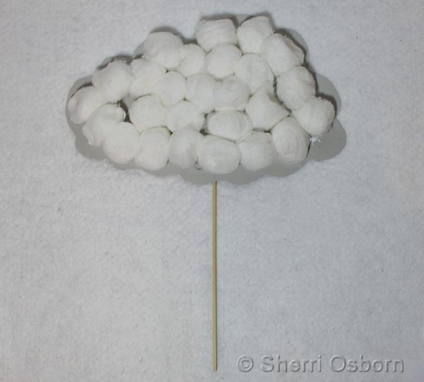 How to Make a Rain Cloud Craft