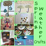 7 spring weather crafts
