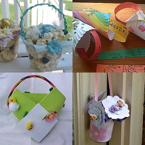 Make a May Day Basket