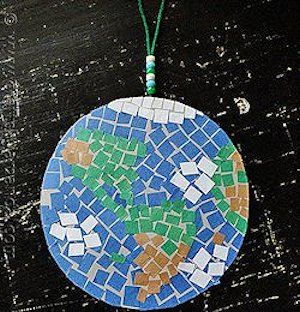 How to Make a Mosaic Earth