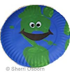 How to Make a Paper Plate Earth