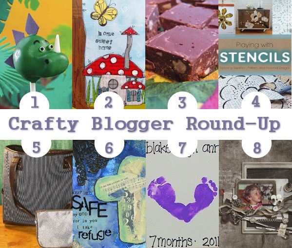 Craft Round-Up-Dinosaur Cake Pops, Mother's Day, More