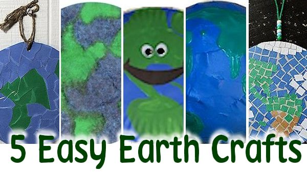Easy Earth Crafts for Earth Day