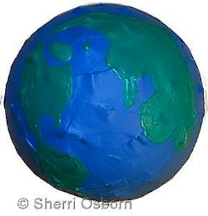 How to Make a Paper Mache Earth