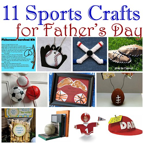 Father's Day Sports Crafts