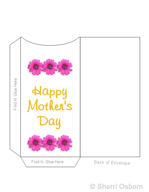 Mother's Day Envelope