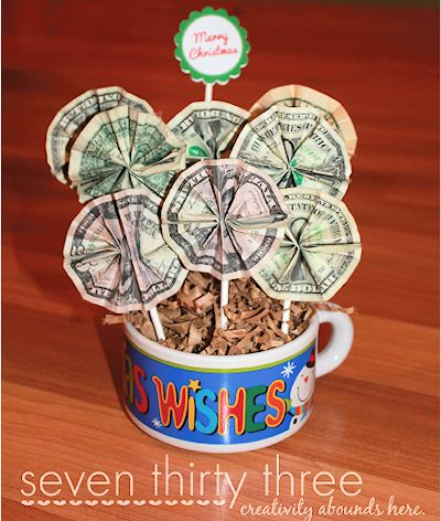 Creative Ways To Give Money For Christmas Present.Personalized Gifts Cute Money Gift Ideas