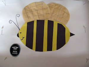 Make a Bee Kind Paper Craft