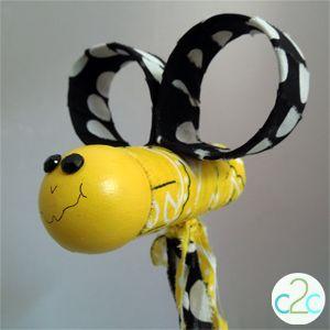 Make a Bumblebee Noisemaker