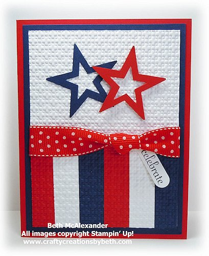 Happy 4th of July Card at Card Creations by Beth