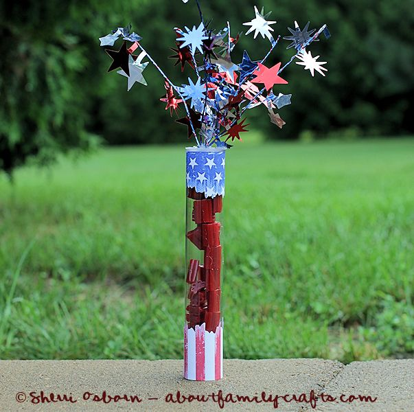 4th of July Candy Cracker Favor