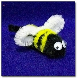 Make a Chenille Stem Bumble Bees