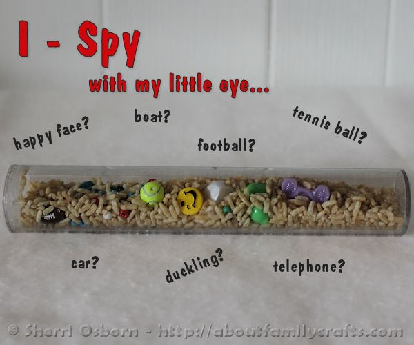 How to Make an I-Spy Game