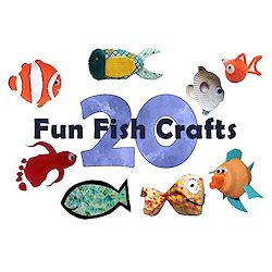 20 Fun Fish Crafts-250