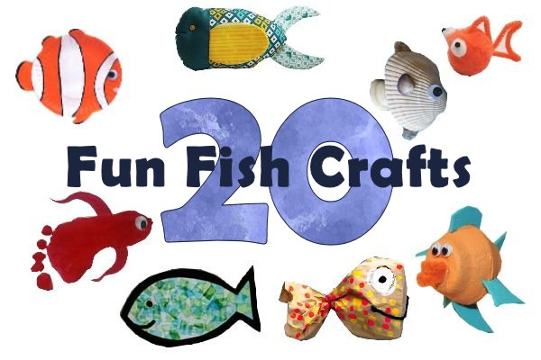 20 Fun Fish Crafts