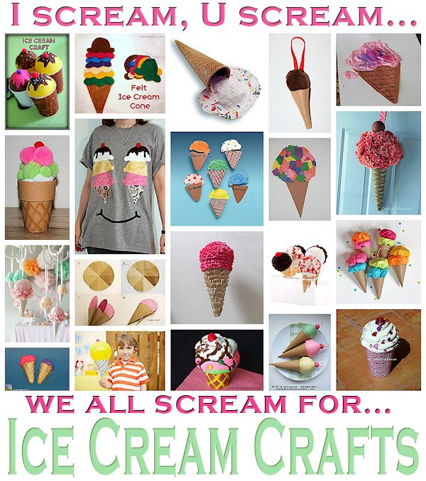 20 Cool Ice Cream Crafts