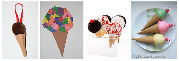 20 cool ice cream crafts about family crafts for Ice cream cone paper craft