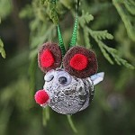 Candy Kiss Mouse Ornament-250