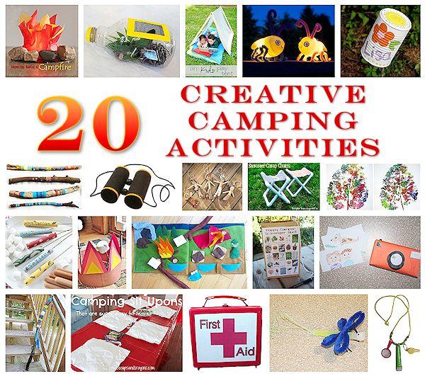20 Creative Camping Activities