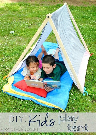 How to Make a Kid's Camping Tent