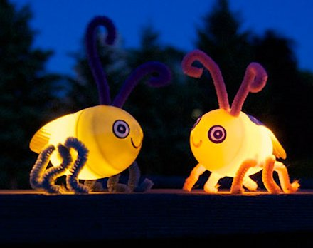 How to Make a Light-Up Egg Firefly