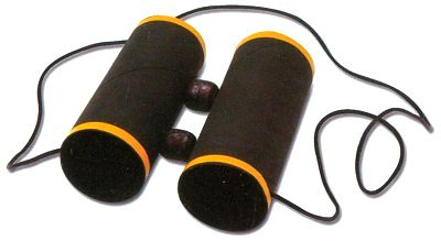 How to Make Paper Tube Binoculars