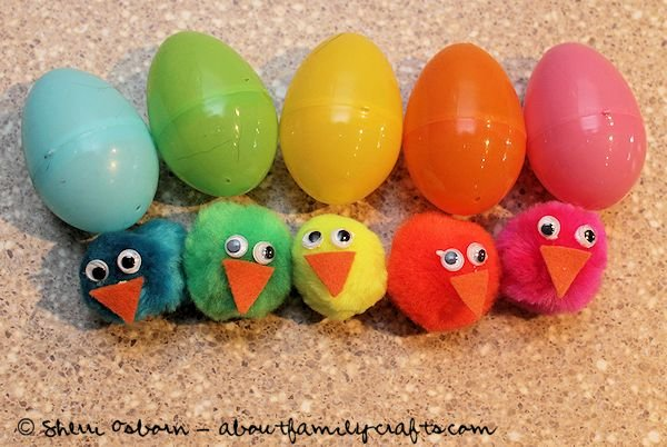 Color Matching Chicks and Eggs