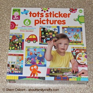 Tots Sticker Pictures Craft Kit for Kids