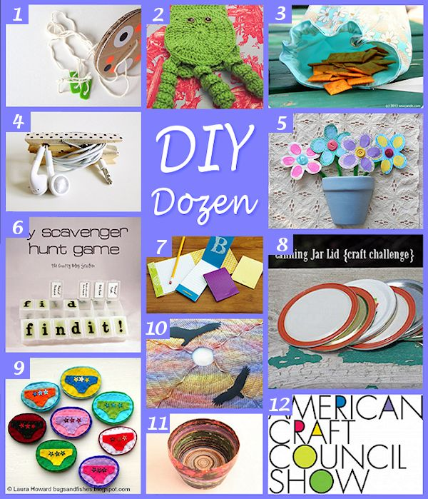 DIY Dozen Round-Up