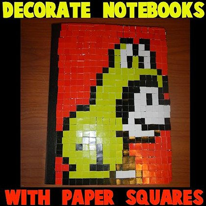 Mosaic Squares Notebook