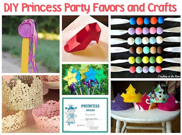 Princess Party Favors and Crafts