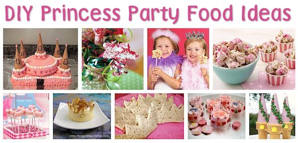 Princess Party Food Ideas