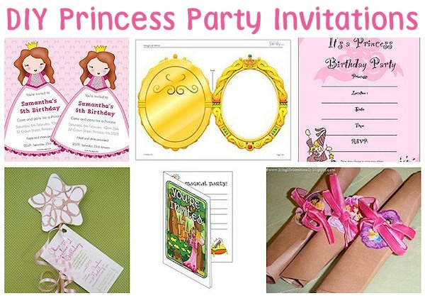 Princess Party Invitation Ideas