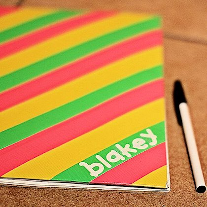Duct Tape Notebook