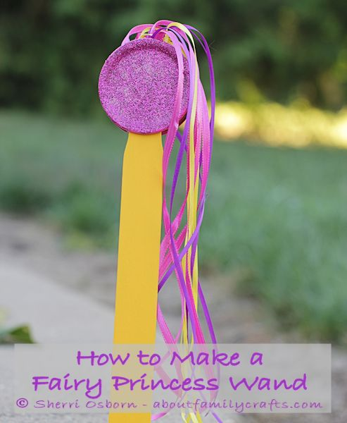 Make a Fairy Princess Wand