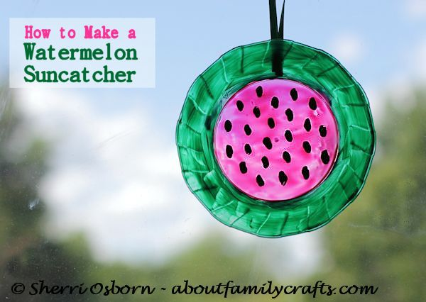 Watermelon Sun Catcher Craft – About Family Crafts ef99281b9947