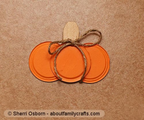 finish canning jar lid pumpkin