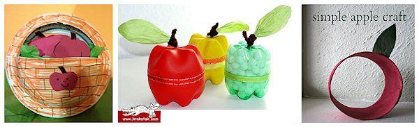 Plastic Bottle Apples