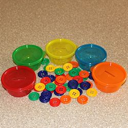 Button Sorting Cups 250