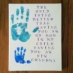 grandma handprint sign 250