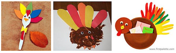 1 turkey crafts