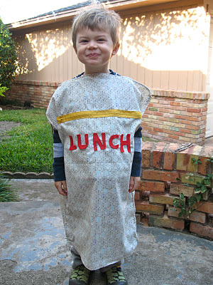 Lunch Bag Costume