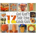12 crafts made using candy corn 250