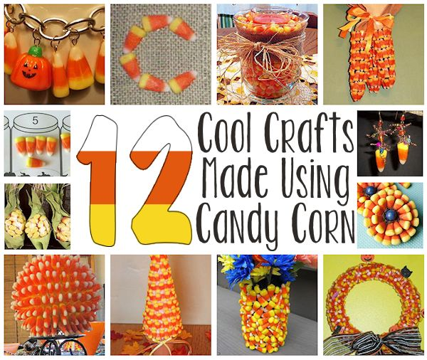 12 Crafts Made Using Candy Corn