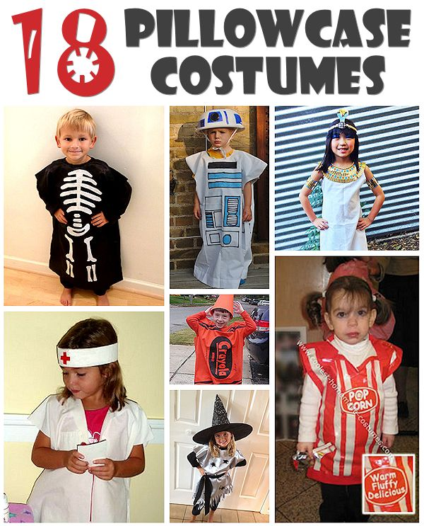 How to Make a Costume from a Pillowcase