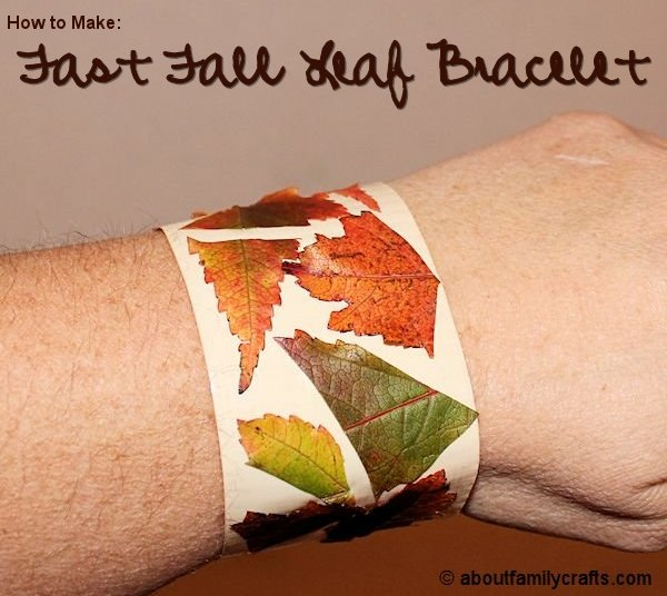 Fast Fall Leaf Bracelet