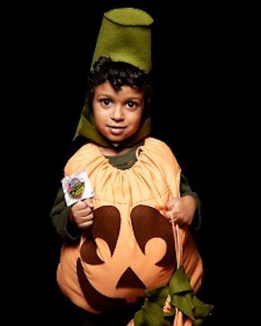 pumpkin Pillowcase Costume