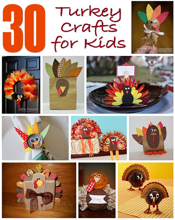 30 Turkey Crafts for Kids